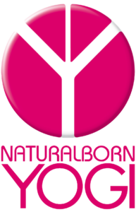 Logo pink von Natural Born Yogi