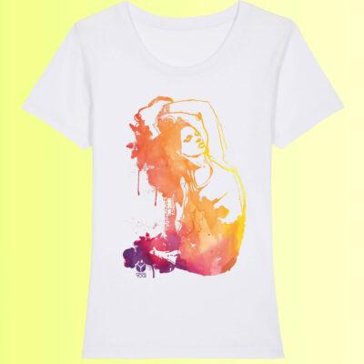 prana yoga t-shirt für damen biobaumwolle
